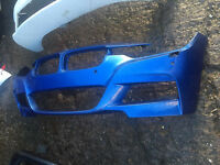 2014 onwards BMW f30 m sport front bumper can post