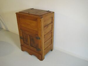 Old Wooden Icebox London Ontario image 3