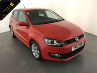 2013 VOLKSWAGEN POLO MATCH EDITION HATCHBACK 1 OWNER SERVICE HISTORY FINANCE PX