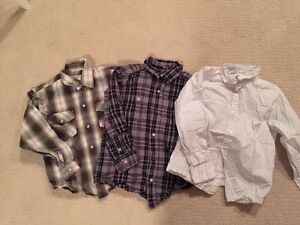 Boys size 5 button up shirts  Edmonton Edmonton Area image 1