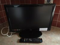 "Logik 19"" LED TV with DVD player and freeview"