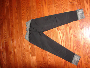 Girls size 5 snow pant leggings