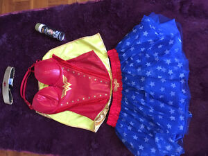 WONDER WOMAN COSTUME- almost new!