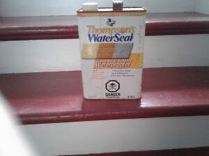 thompsons water seal; 3.8 L