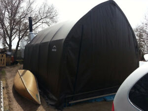 13x20x12 Garage in a box/Coverall storage shelter