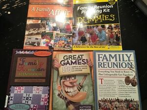 Five Family Reunion Planning Books