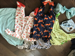 Lot of Brand Name Baby Boy Clothes Newborn to 18 months