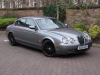 FINANCE AVAILABLE!!! 2005 JAGUAR S-TYPE 2.7 D V6 SPORT 4dr, FULL LEATHER,