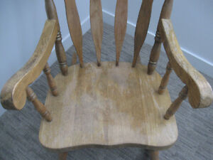 Vintage, wooden rocking chair Prince George British Columbia image 3