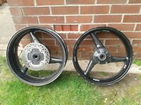 Honda cbr 954 fireblade wheels