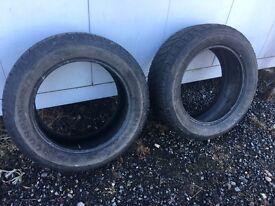 2 Pirelli scorpion tyres