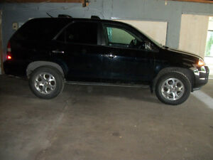 2002 ACURA MDX 4X4 LEATHER *NEW SNOW TIRES*7 PASS. LOADED EQUIPE