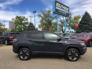 2017 Jeep Compass Trailhawk  w/ NAV, BLIND SPOT  CROSS PATH