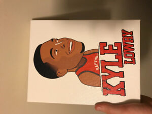 Selling kyle Lowry painting