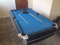 Mightmast Leisure Callisto 7' Pool Table
