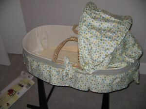 Jolly Jumper Rocking Baby Bassinet (Crib) and Stand