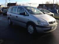 2003 Vauxhall Zafira 1.8 i 16v Club 5dr