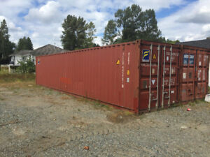 Storage Container and Truck Parking