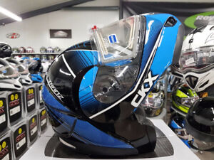 CKX Modular Helmet with heated shield (Blue Only)