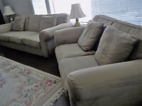 Bauhaus USA 3 seater Couch & Love seat