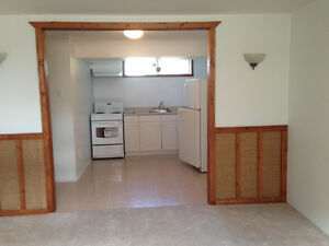 1 Bedroom - All-Inclusive - Basement Apt - Central Location