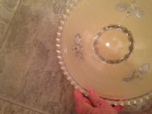 Fancy ANTIQUE Glass Shade