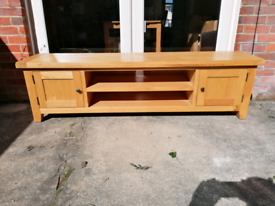 Oak TV Unit / Sideboard