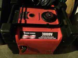 King Canada 3000W Generator Kingston Kingston Area image 2