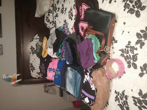 Womens med/lrg clothing lot