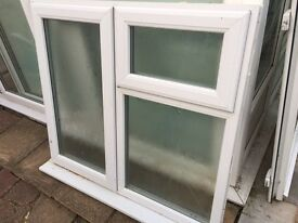 Bathroom double glazed window