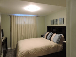 Private Home Basement 1 Bedroom Fully Furnished Apartment
