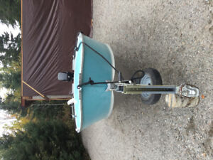 40hp Mercury 4-stroke on 18 ft boat, very good condition