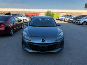 2012 Mazda 3. CERTIFIED, E TESTED, WARRANTY, NO ACCIDENT