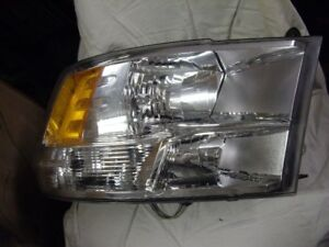 2009-12 dodge ram oem right headlight