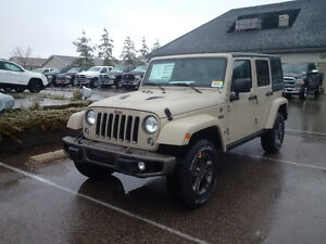 2016 Jeep Wrangler 75th Anniversary unlimited 4x4 7700kms