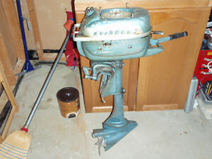 Antique  outboard
