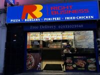 CHICKEN & PIZZA SHOP FOR SALE IN ROMFORD , ADV REF : RB284