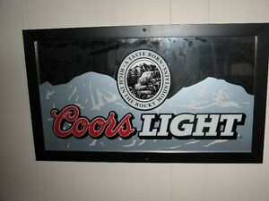 Coors Light Bar Mirror