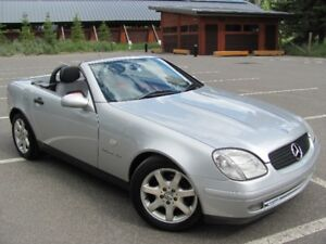 Mercedes SLK230 Kompressor Convertible, ONLY 63,000km's!!
