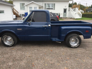 1972 GMC SHORT BOX STEP SIDE CERTIFIED