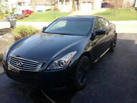 2008 Infiniti G37 Sport Coupe with Winter Tires & Rims