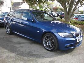 2011/11 BMW 318d 2.0TD M Sport Plus Estate, Superb Condition, £30 Tax