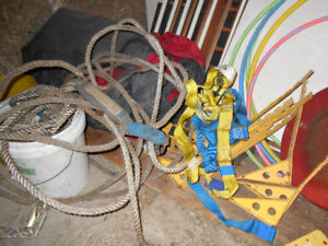 Roofing tools, rope, harness etc for DIYer or pro