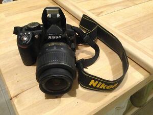Barely used Nikon DSLR Camera