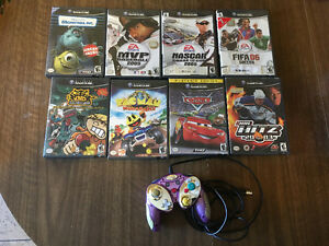 Gamecube Games & Controller for sale