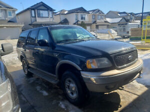 2000 Ford expedition Eddie Bauer for sale or trade for a mustang