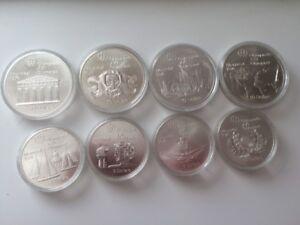 8 pièces argent monnaie jeux olympiques 1976 scellé 1973-74