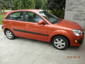 Kia Rio 5 hatchback, Auto, AC, low miles, kept in garage