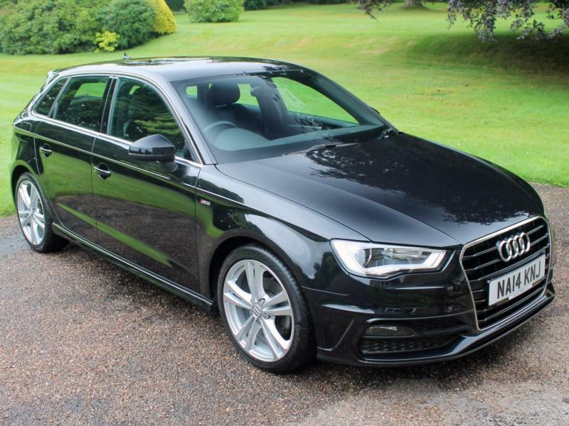 audi a3 sportback s line black the image kid has it. Black Bedroom Furniture Sets. Home Design Ideas