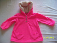 Pink coat + blue pants for girl – size 12M - $5